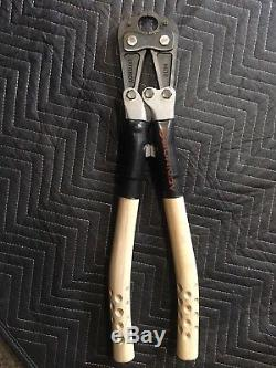 Burndy Md6 Hytool Hand-operated Compression Crimper Tool