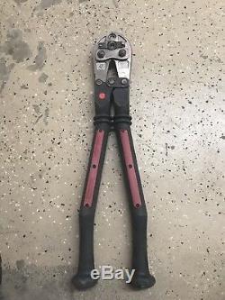 Burndy Md7 Posi-press Hytool 9000 Lbs. Hand Operated Crimping Tool