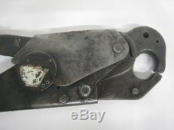 Burndy OUR 840 Hytool Hand Ratchet Crimping Crimper Crimp Tool