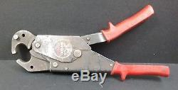 Burndy OUR840 Hytool 8000 lbs Hand Operated Ratchet Tool Crimper No Dies