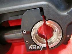 Burndy Y750HSXT Hydraulic / Manual Hand Crimping Tool / Crimper FAST SHIP
