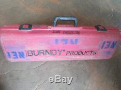 Burndy Y750HSXT Hydraulic / Manual Hand Crimping Tool / Crimper With Case