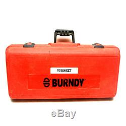 Burndy Y750HSXT Revolver Hydraulic Hand-Operated 12-Ton Crimping Tool withCase