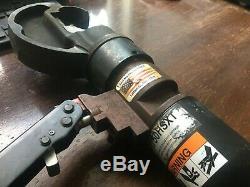 Burndy Y750hsxt Hydraulic Hand Crimping Tool