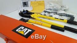 COMPLETE Caterpillar AMP Rota-Crimp 600850 Hand Crimping Tool, cutters set