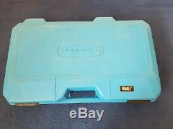 Cembre HT131-C two speed, hand hydraulic crimper crimping tool 12 dies & case