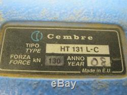 Cembre HT131 L-C Hydraulic hand crimping tool crimper With 8 SETS STAINLESS DIES