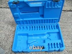 Cembre HT51, dual speed hand hydraulic crimper, crimping tool and case