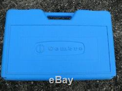 Cembre HT51, two speed, hand hydraulic crimper, crimping tool & case