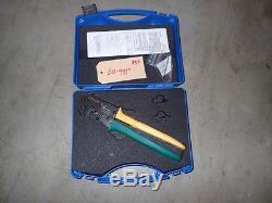 Certi-Lok 169400-0 / Rev. B. Crimp Zange CERTI LOCK Hand Crimptool Insolvenz 2R