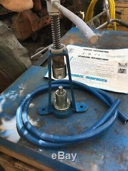 Couplamatic Swaging Tool Kit Hand Hydraulic Hose Crimper Screw Press 1/2