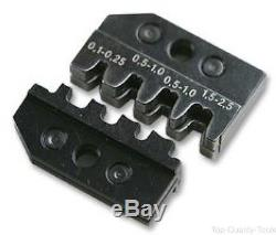 Crimp Tool Die, 27-13AWG Non-Insulated Open Plug Type Connectors, 97 43 E Hand C