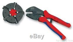 Crimp Tool, Hand, 20-10AWG Non-Insulated Open Plug Type Connectors