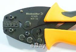 Crimp Tool, Hand, Weidmuller Wire End Ferrules