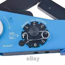 Crimping Tool Kit M22520/2-01 YJQ-W1A hand tool +K40+K42+K43+K13-1 Positioners