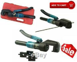 Custom Hydraulic Hand Crimper Tool For Stainless Steel Cable Railing Fittings