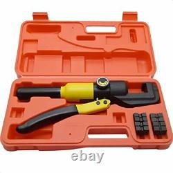 Custom Hydraulic Hand Crimper Tool, Wire Rope Swaging Tool, for 1/8