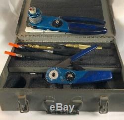DMC 12 Kit USAF Daniel's Mfg. Corp. MS 27426 Miniature Hand Crimp Tool Set Kit