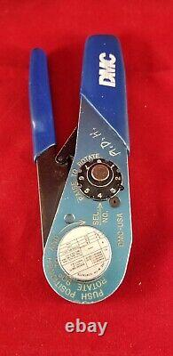 DMC AF8 HAND CRIMP TOOL M22520/1-01, WithM22520/2-08 Cage