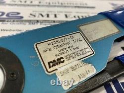 DMC AF8 Hand Crimp Tool M22520-1-01 M22520/1-01 with Warranty