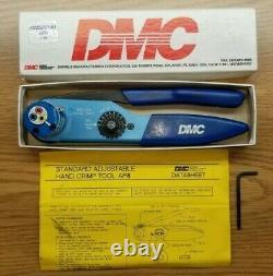DMC AF8 STANDARD ADJUSTABLE HAND CRIMP CRIMPING TOOL M22520/1-01 Daniels