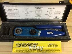 DMC Adjustable Hand Crimp Tool AF8