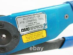 DMC Af8 Hand Crimp Tool M22520/1-01 Daniels Manufacturing Corporation