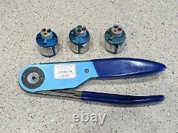 DMC Balmar Hand Crimping Tool M22520/1-01 + M22520/1-02 M22520/1-03 M22520/1-04