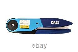 DMC Circular Indent Hand Crimp Tool M22520/4-01 Daniels Mfg. GS100-1