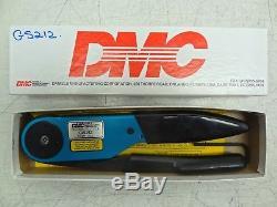 DMC Daniels GS212 Circular Indent Hand Crimp Tool Crimper READ