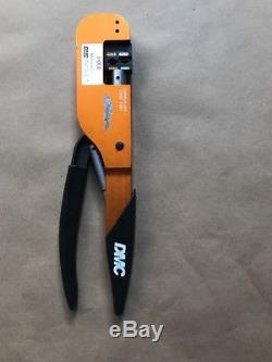 DMC Daniels HX4 M22520/5-01 Open Frame Hand Crimping Tool With M22520/5-100 Die