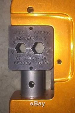 DMC, Daniels Manufacturing HX4 Crimping Tool, Terminal, Hand M22520/5-01
