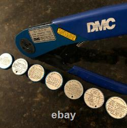 Daniels DMC AFM8 Hand Crimping Tool M22520/2-01 Crimper Withpositioners