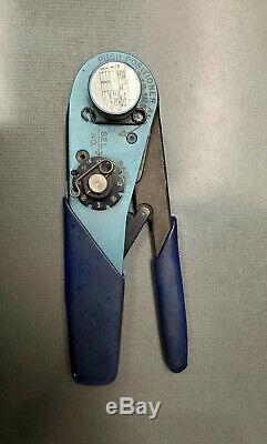 Daniels DMC AFM8 Ratchet Hand Crimping Tool Aircraft Crimper
