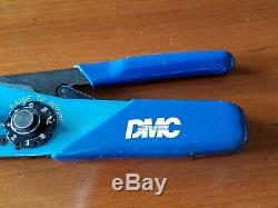 Daniels DMC AFM8 Ratchet Hand Crimping Tool M22520/2-01 Aircraft Crimper