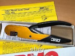 Daniels / DMC HX3 (M22520/10-01), Open Frame Crimp Tool Hand Crimper