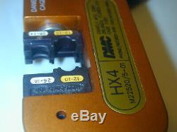 Daniels DMC HX4-501 Open Frame Hand Crimping Tool Y501 Die set M22520/5-01