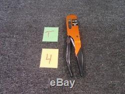Daniels DMC Hx4 Crimping Hand Tool Crimper Electrical Precision Ratchet Used