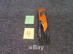 Daniels DMC Hx4 Crimping Hand Tool Die Y501 12-10/26-14 Ratchet M22520/5/01 Wire