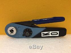 Daniels DMC MH992 0.0070 to 0.0305 Gauge Dia, Miniature Hand Crimp Tool. Tested