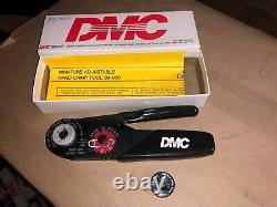 Daniels DMC Minature Adjustable Hand Crimp Tool M22520/34-01 39-0000