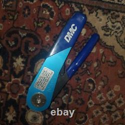 Daniels DMC Miniature Adjustable Hand Crimp Tool M22520/2-01 AFM8 Blue Used