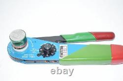 Daniels Manufacturing DMC Adjustable Hand Crimp Tool MH801 Deutsch 81553C16