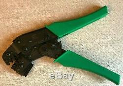 Deutsch DTT-16-00 Crimp Tool Crimper Electronic Hand Motorcycle Ratcheting molex
