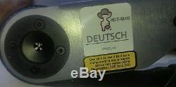 Deutsch Genuine HDT-48-00 Hand Crimp Tool, Size 12AWG 20AWG MADE IN USA