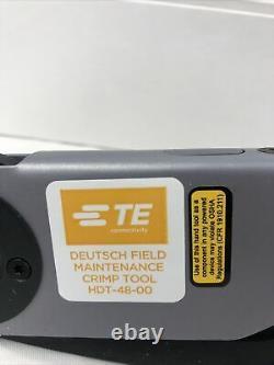 Deutsch HDT-48-00 Genuine Hand Crimp Tool, Size 12- 20AWG, Made in USA