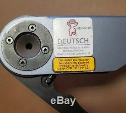 Deutsch HDT-48-00 Hand Crimp Tool, Size 12- 22AWG, For Solid Contact Terminals