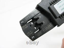 Deutsch I. P. D. Dtt-16-00 Hand Crimper Tool Contacts 14-16 Awg Side Entry, Ratche