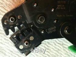 Deutsch IPD DTT-16-00 Crimp Tool Crimper Electronic Hand Ratcheting 16-14 AWG