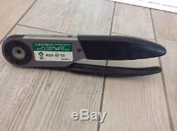 Deutsch Model HDT-48-00 JDG360-2 Hand Operated Crimping Tool 12-26AWG